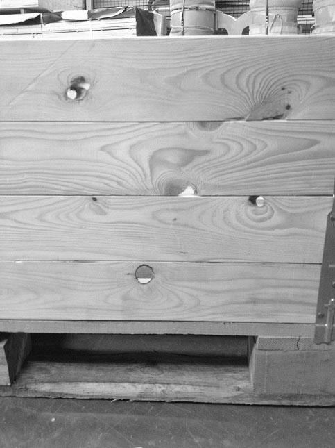 Aufsatzrahmen aus Holz | ADLERPACK