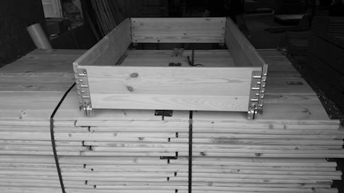 Holzaufsatzrahmen für Paletten | ADLERPACK