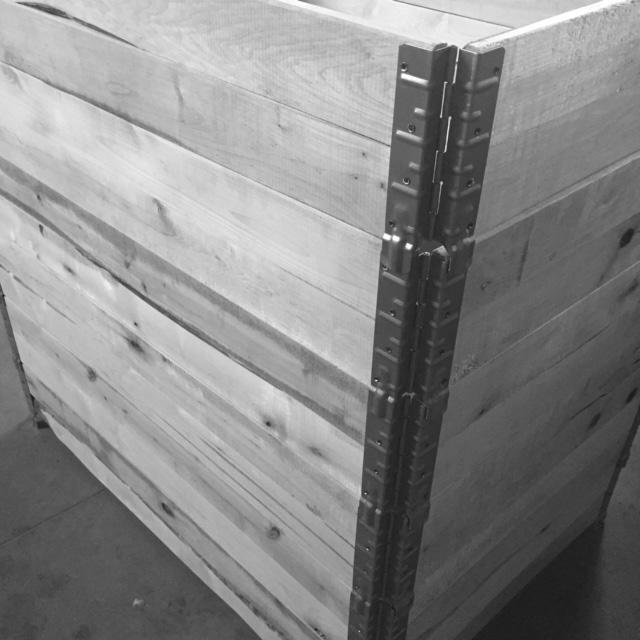 Palettenaufsatzrahmen aus Holz